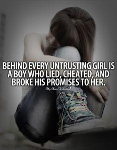 untrusting